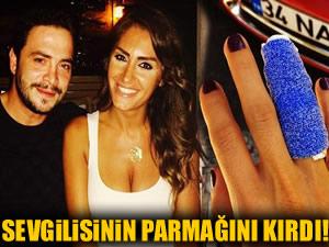 Ahmet Kural Naz Çekem'in parmağını kırdı
