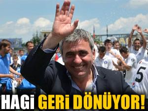 Gheorghe Hagi geri dönüyor