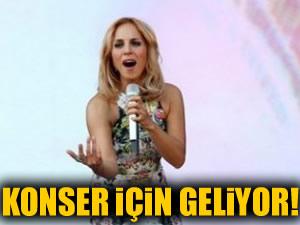 Sertab Erener konser için yine Türkiye'ye geliyor