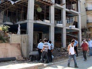 Zonguldak'ta inşaattan düşen işçi ağır yaralandı