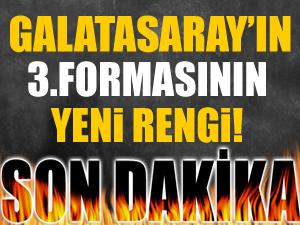 Galatasaray'ın 3. formasının yeni rengi
