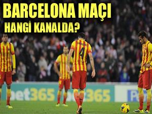 Barcelona Apoel Nicosia maçı hangi kanalda?