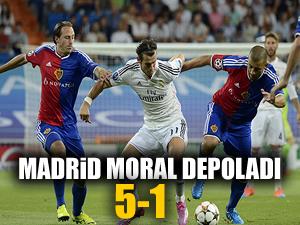 Real Madrid kendine geldi: 5-1