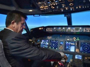 Zeybekci'den Boeing 737 ile simülasyon uçuşu