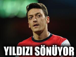 Mesut Özil'in yıldızı sönüyor