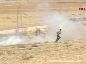 Sınırda asker ve polisten müdahale