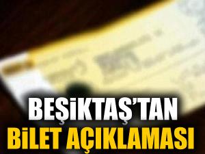 Beşiktaş, Tottenham maçı ile ilgili bilet açıklaması yaptı