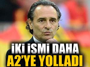 Galatasaray'da İki isim daha A2'ye gönderildi
