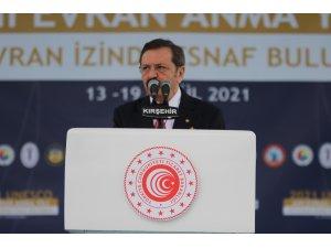 """TOBB Başkanı Hisarcıklıoğlu: """"Daha müreffeh bir Türkiye için hep beraber kenetlenmeliyiz"""""""