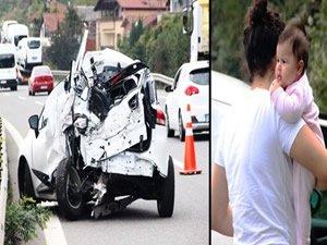 O kazadan yara almadan çıktılar
