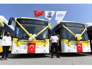 Mersin Büyükşehir Belediyesi ulaşım filosunu güçlendiriyor