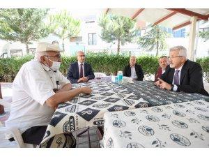 Başkan Erdem Işıktepe'de incelemelerde bulundu
