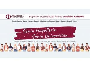 Anadolu Üniversitesi bu yıl da başarılı öğrencilerin tercihi