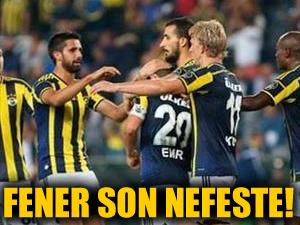 Fenerbahçe Antep'i güçlükle yendi