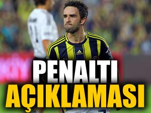 Gökhan Gönül'den penaltı açıklaması