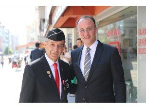 """Başkan Örki; """"Şehit ve gazilerimizin gönlümüzdeki yeri en yüksek mertebedir"""""""