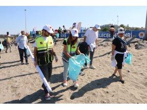Samsun plajlarında çevre temizliği