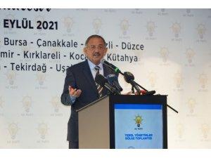 """AK Parti Genel Başkan Yardımcısı Özhaseki: """"Algı peşinde değiliz, biz eser bırakmaya çalışıyoruz"""""""
