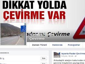 Radardan kaçmak için Facebook'ta grup kurdular