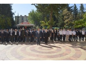 Besni ilçesinde 19 Eylül Gaziler Günü kutlandı