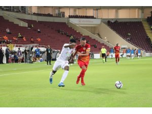 Süper Lig: A. Hatayspor: 0 - Y.Kayserispor: 1 (İlk yarı)