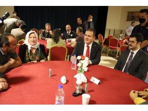 Hakkari'de şehit ve gazi yakınlarının onuruna yemek verildi