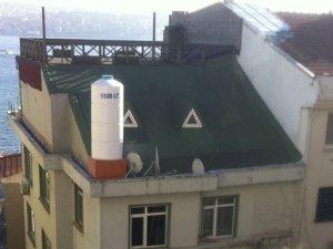 Sinan Çetin'e ait binanın çatısındaki baz istasyonu kaldırıldı