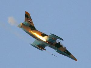 İsrail Suriye uçağını düşürdü
