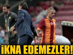Sneijder:Beni ikna etmeleri çok zor