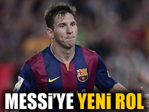 Barcelona'da Messi'ye yeni rol