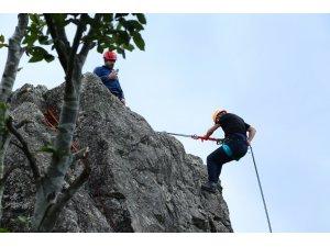 Yoroz Kent Ormanı dağ spor merkezi oldu