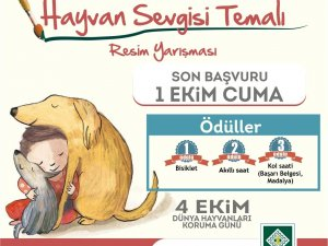 Osmaniye'de 'Hayvan Sevgisi' temalı resim yarışması düzenlenecek