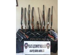 Başkentte silah kaçakçılarına yönelik operasyon: 25 gözaltı