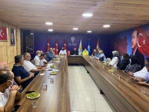 AK Parti haftalık olağan yönetim kurulu toplantısı yaptı