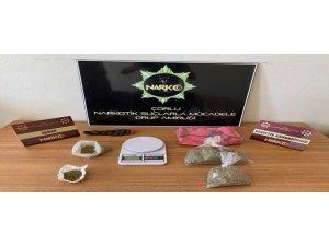 Tekirdağ'da uyuşturucu operasyonu 1 kişi tutuklandı
