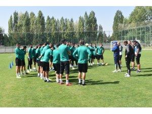 Sivas Belediyespor, Etimesgut maçı hazırlıklarına başladı