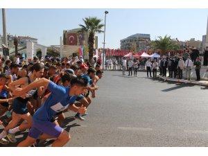 Aydın'da Adnan Menderes için koştular
