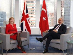 Dışişleri Bakanı Çavuşoğlu, Birleşik Krallık Dışişleri Bakanı Truss ile bir araya geldi