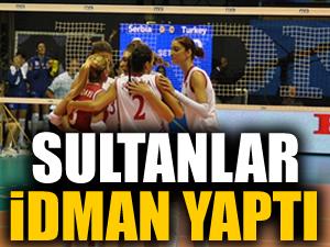 Sultanlar idman yaptı: 3-0