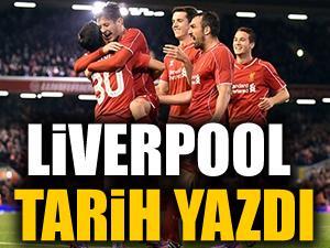 İnanılmaz maç! Liverpool tarih yazdı