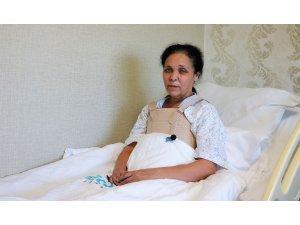 Kalp hastalığıyla dünyaya gelen kadın, Muğla'dan gelip Tekden'de sağlığına kavuştu