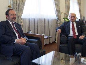 Akdoğan, Görmez'i kabul etti