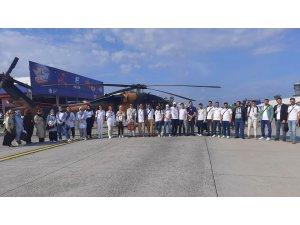 Yurt dışındaki gençler Teknofest'te yerlerini aldı