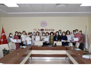 Aydın'da Anne Sütü ve Danışmanlık Uygulama Eğitimi verildi