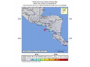 Nikaragu'da 6.5 şiddetinde deprem