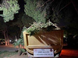 İzmir'de yüklü miktarda uyuşturucu ele geçirildi: 63 şüpheliye işlem