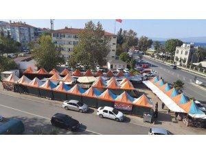 """Mudanya'da """"Yöresel Ürünler Pazarı"""" kaldırıldı"""