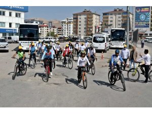 Van'da bisiklet turu etkinliği