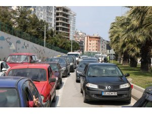Samsun'da trafiğe kayıtlı araç sayısı 1 ayda bin 651 adet arttı