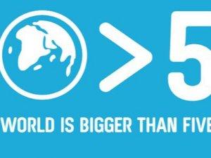 Erdoğan'ın  'Dünya 5'ten büyüktür' sözü kampanya oldu